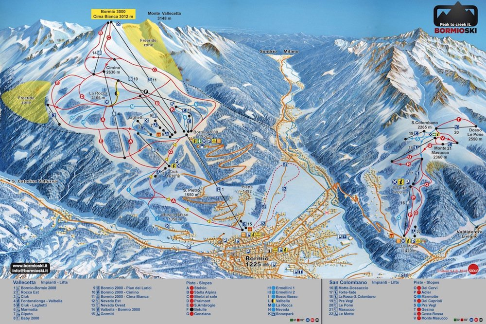 Ski Resort of Bormio