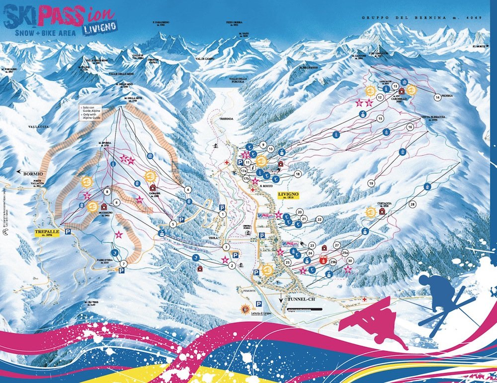 Ski Resort of Livigno