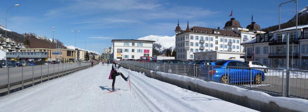 Ski Safari Dolomites: Sankt Moritz