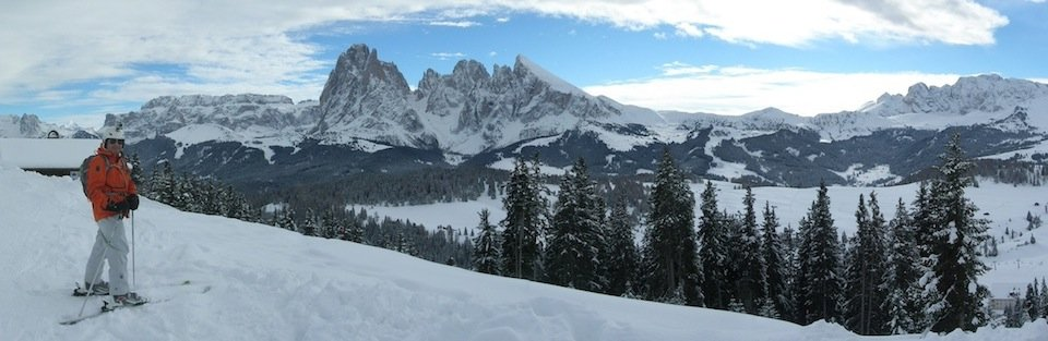 Ski Safari Dolomites: The Seiser Alm ski area