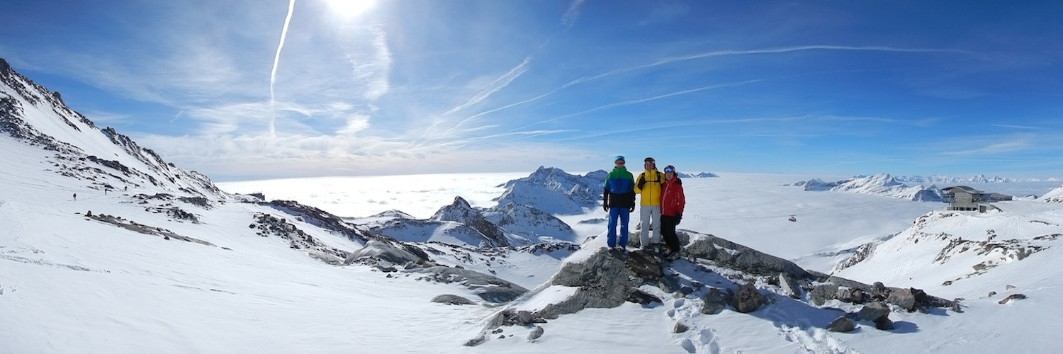Ski holidays in the Western Alps, Mont Blanc, Monte Rosa