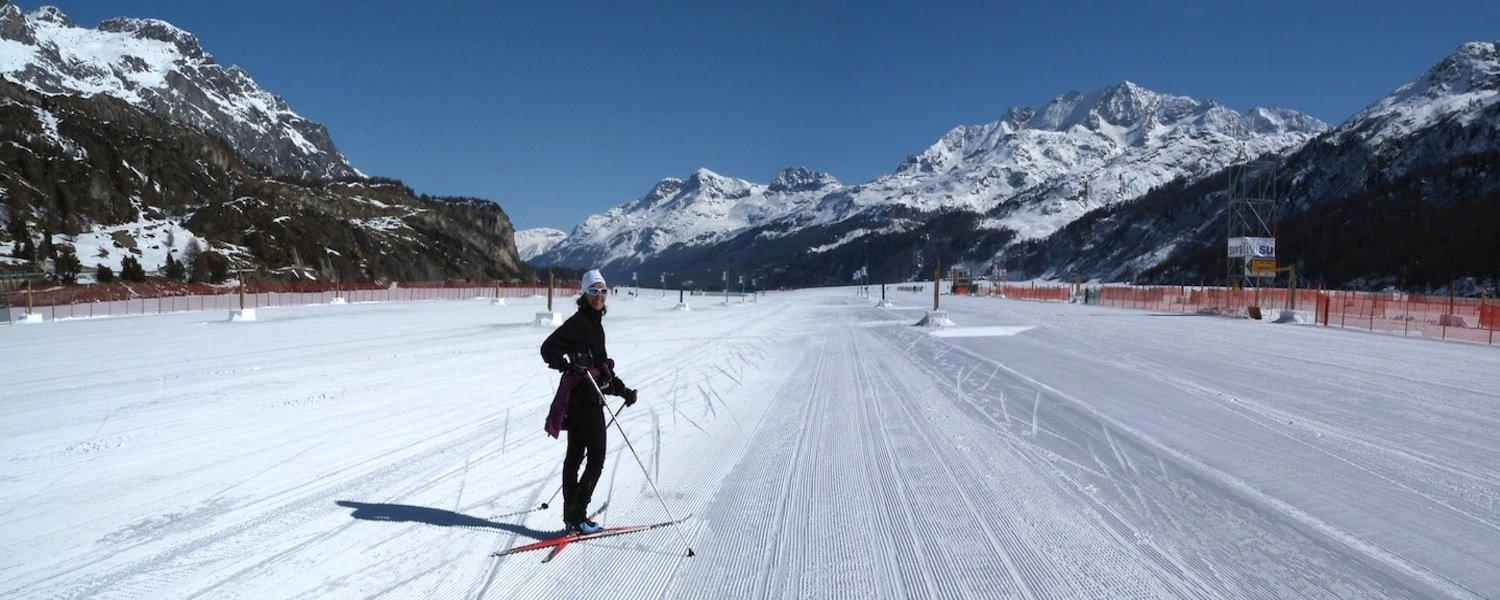 Cross country ski in Engadin