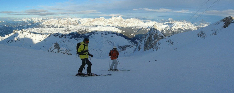 ski safari dolomites marmolada
