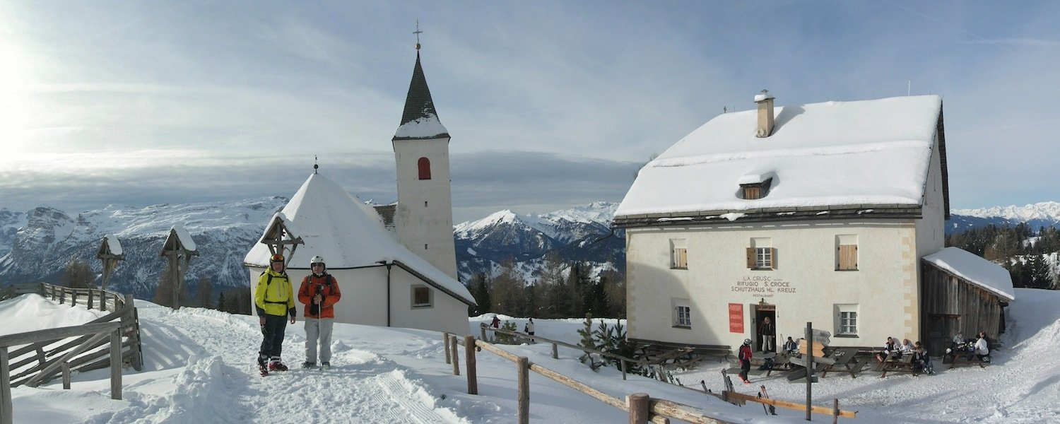 Ski Safari Dolomites: Sasc dl Crusc Sanctuary