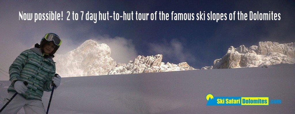The Central Dolomites ski emotions