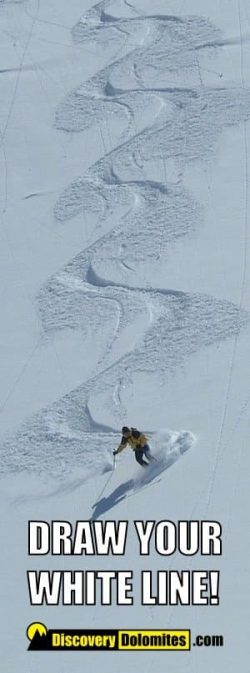 Ski Safari Dolomites: draw your line